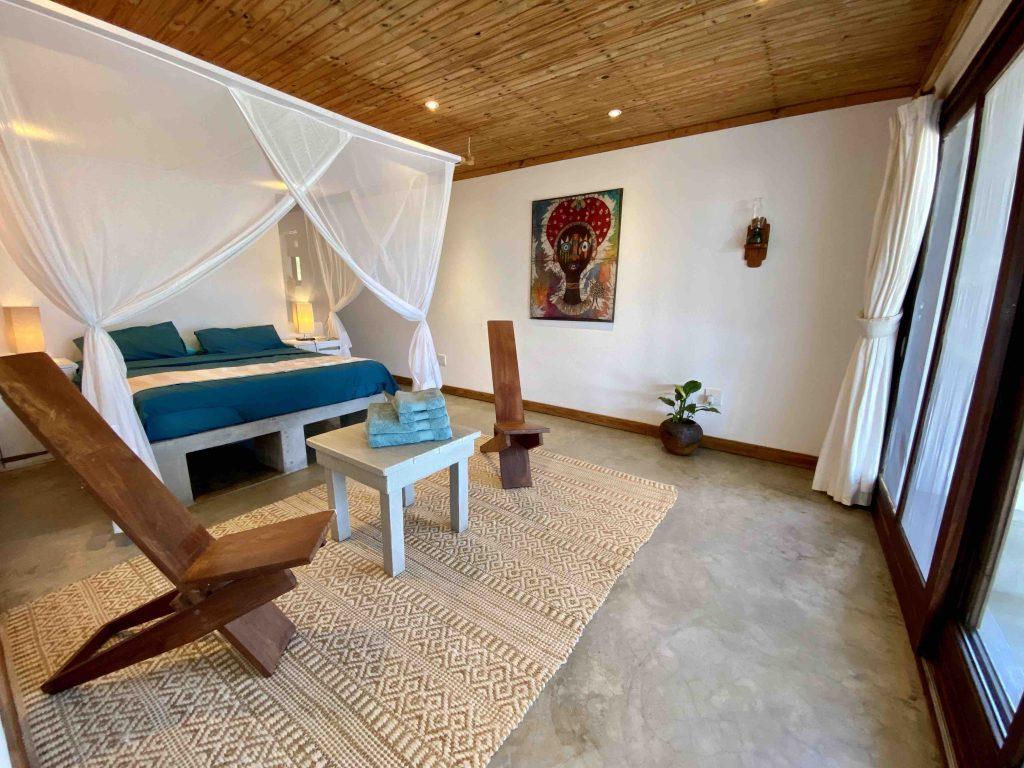 casa amendoa master bedroom